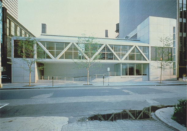 Michael Asher, 'The Museum of Contemporary Art, Chicago, Illinois, U.S.A., June 8 - August 12, 1979', 1979, exhibited, outside view