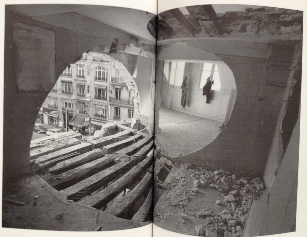 Work by Gordon Matta-Clark