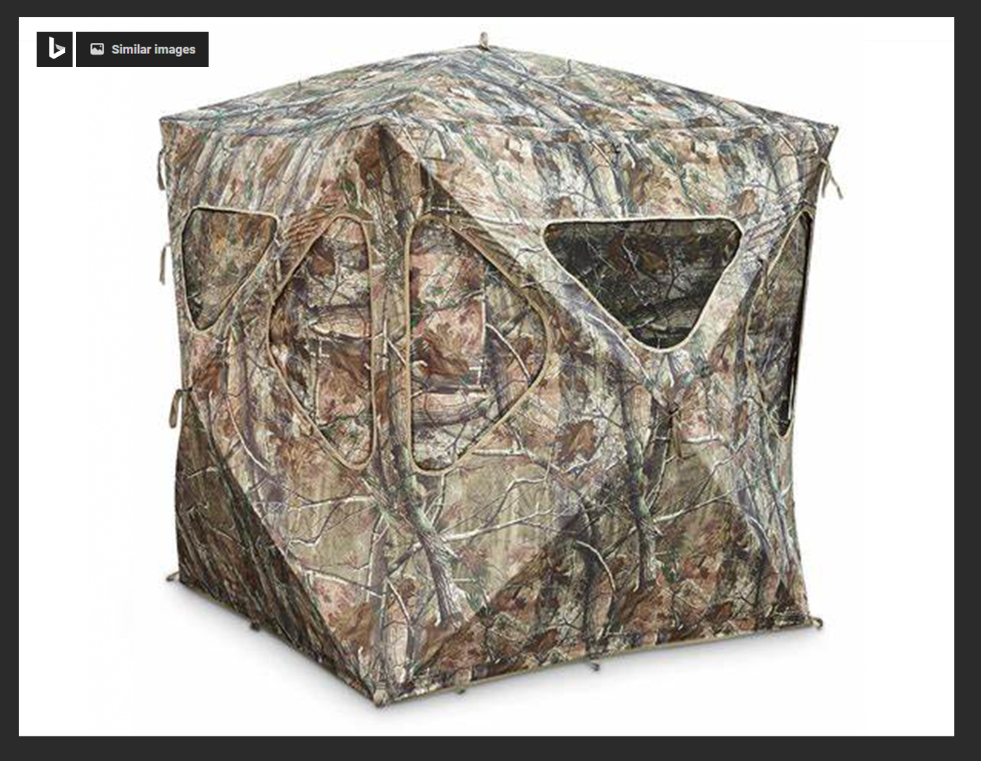 Wolf's Den 5-Hub Ground Blind
