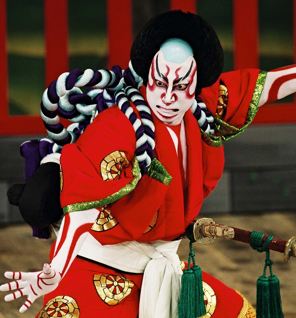 Kabuki Theater, Japan, bron onbekend