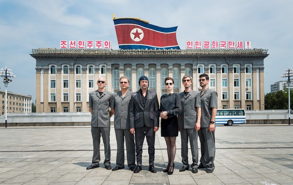 Laibach - Rumors go around that Laibac is responsible for the fall of socialism in Slovenia, due to their thought provoking, ambivalent, performances. Recently they were the first rock band who played in North Korea