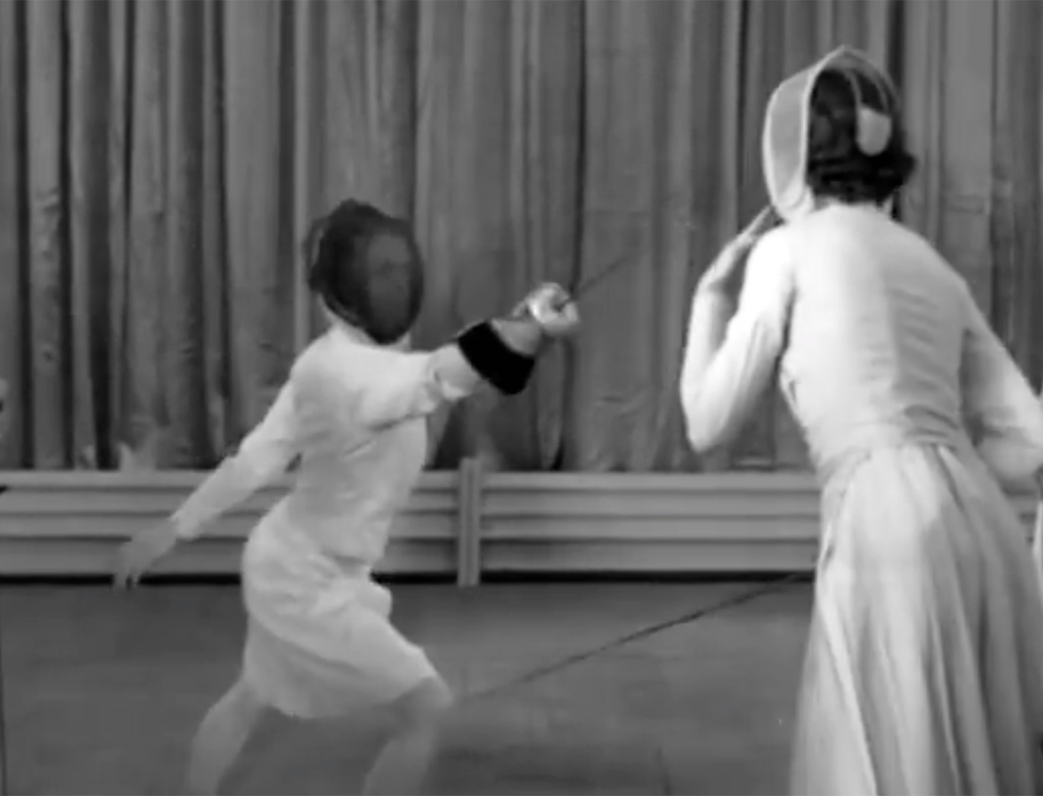 Women Fencing, 1937 (video)