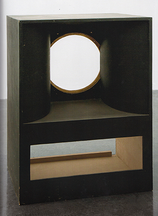 Maurice Blaussyld, 'Sans Titre', 2008/2009/2010, okoumé, poplar, black alkyd resin, 141.6 x 104.6 x 81.3 cm, (Collection de l'Institut d'art contemporain, Rhône-Alpes, Villeurbanne, acquired 2010) Photo: Francis Dubuisson