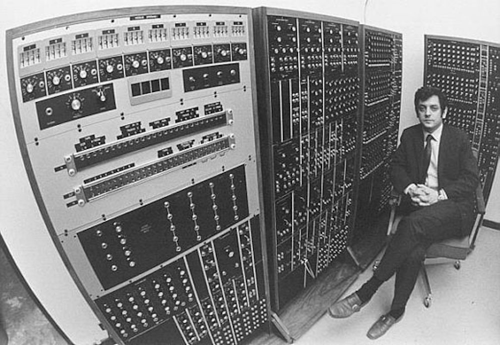 Robert Moog - Inventor of the synthesizer. One of the best parts of being an artist and working with certain materials is that you can become one with these materials and therefore in a deeper connection with cosmos.