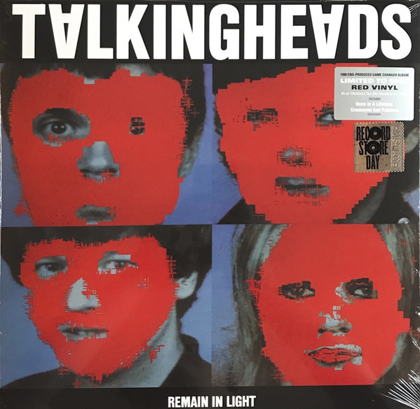 Album cover Talking Heads, Remain in light.