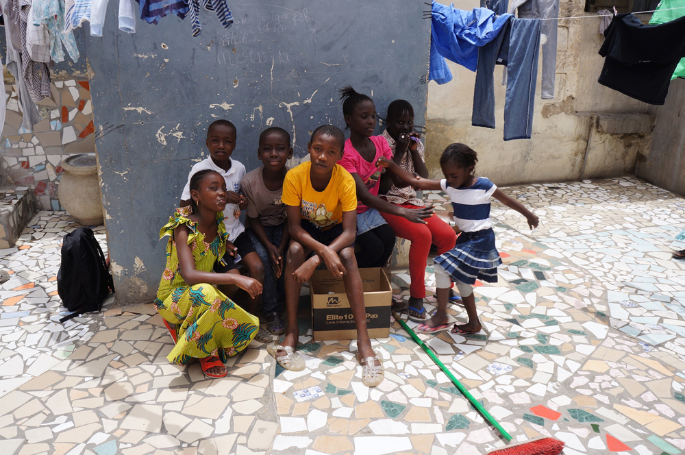 Children in Dakar, 2016