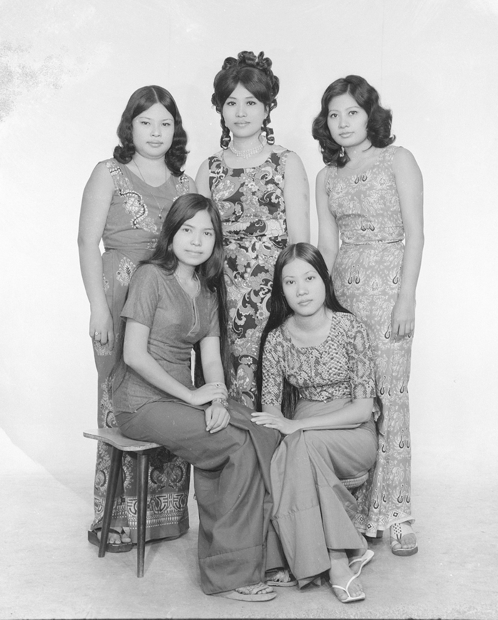 Har Si Yone, Bellay Photo Studio, Yangon,  1970