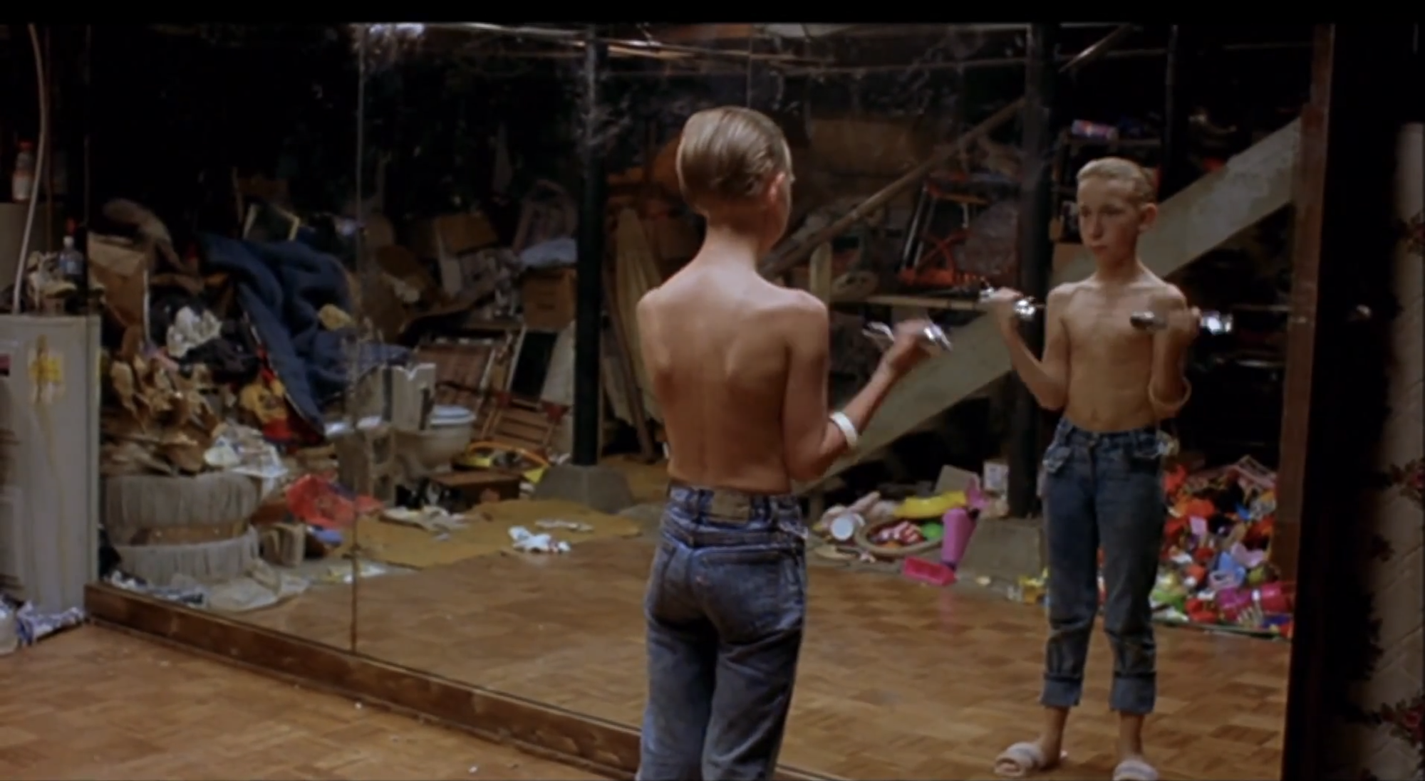 "Still from film ""Gummo"" by Harmony Korine, 1997"
