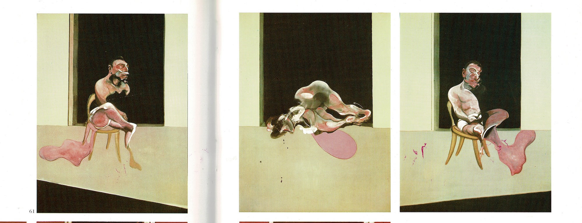 Francis Bacon, Triptiek 1972.