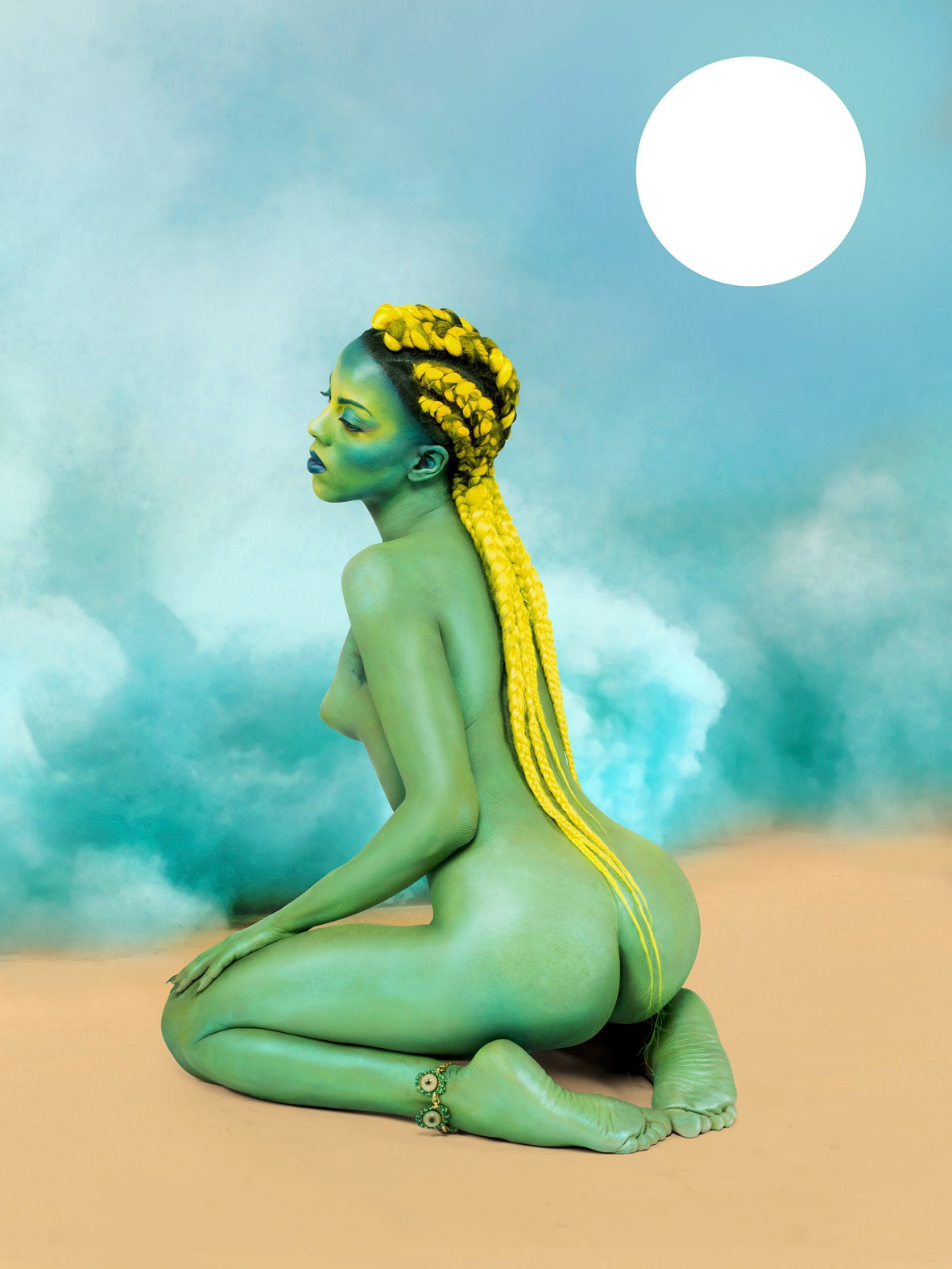 Juliana Huxtable - untitled in the rage (nibiru cataclysm), 2015