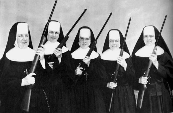 The Vatican Women's Rifle Team