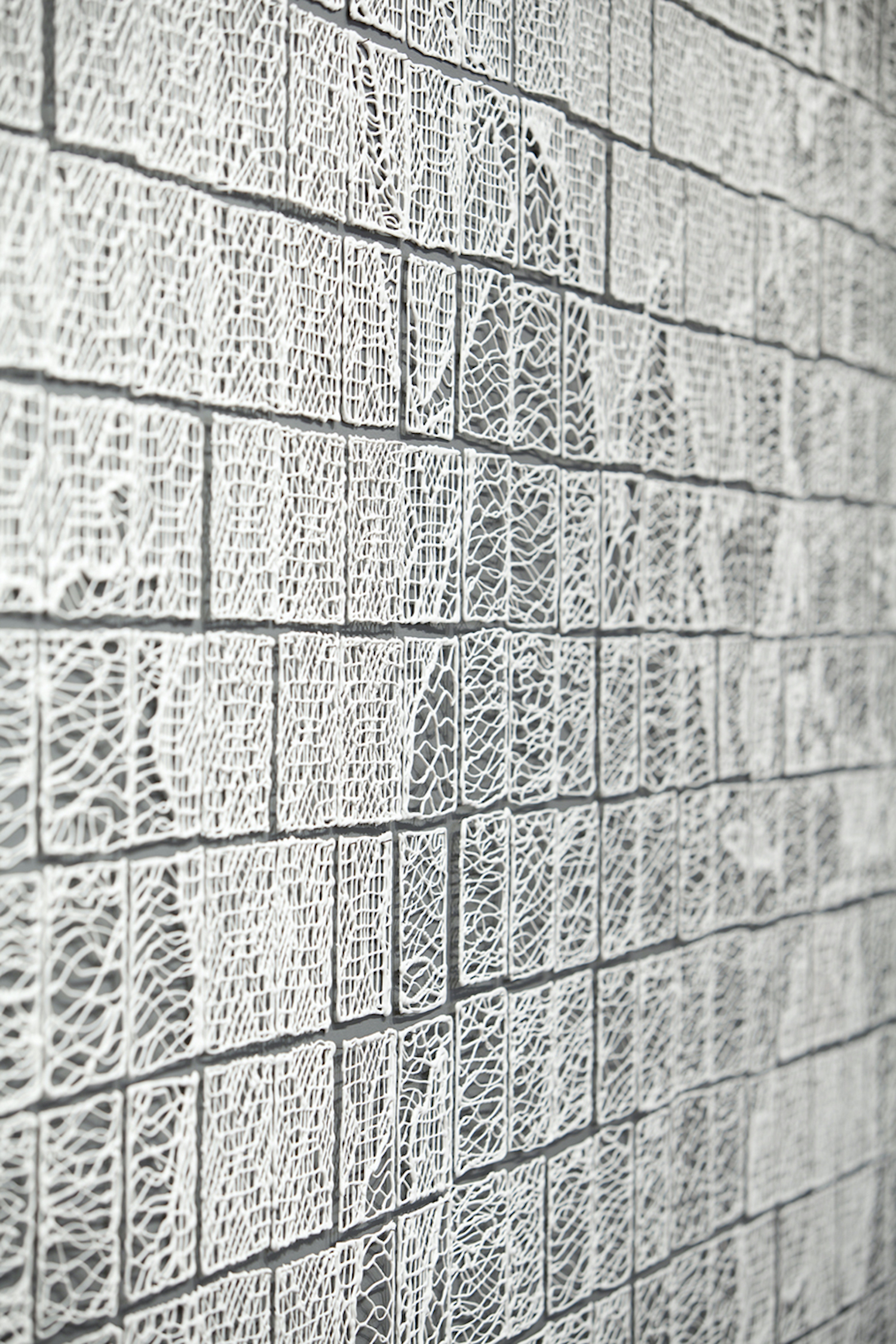 Isabel Ferrand, World Lace, detail (2013)
