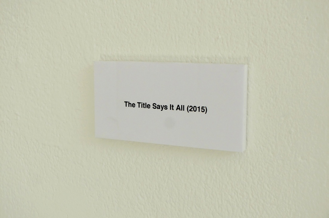 The Title Says It All (2015) - Willem de Haan