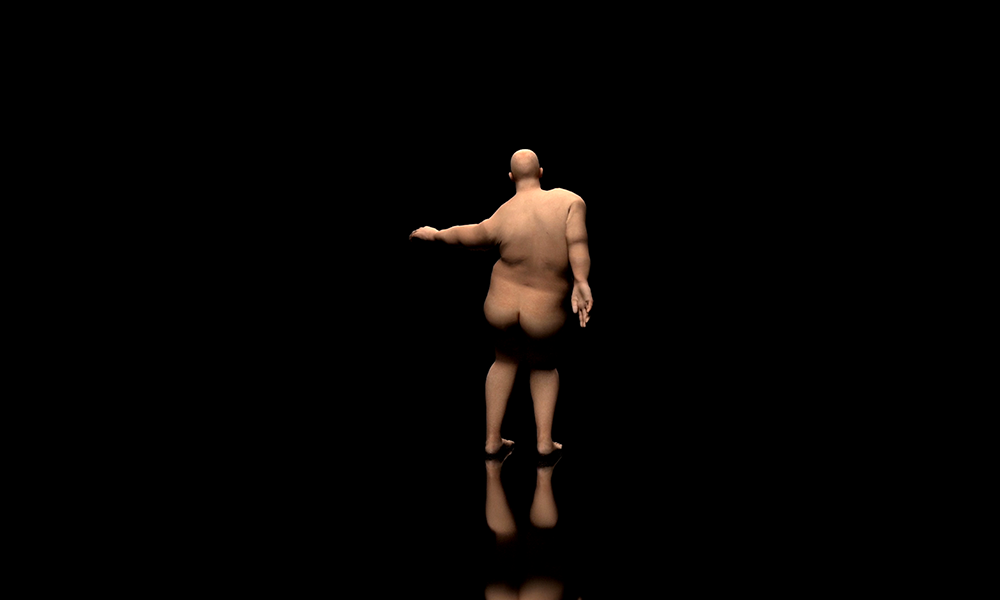 Daan Couzijn - Fat guy dancing - 2018