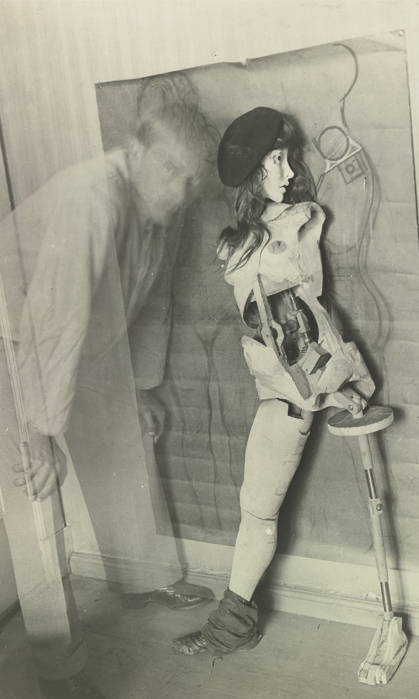 Hans Bellmer - Self-portrait with Die Puppe - 1934