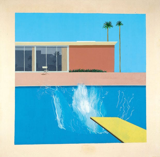 A Bigger Splash (1967), David Hockney. © David Hockney
