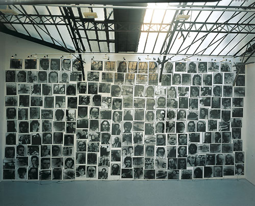 Christian Boltanski, Murderers and Victims