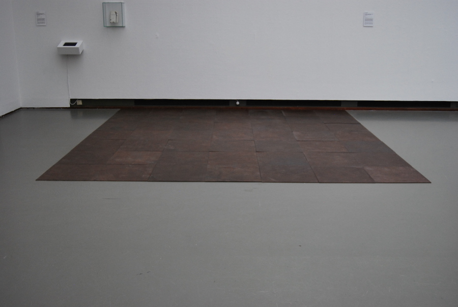 Forty-Ninth Steel Cathedral, Carl Andre