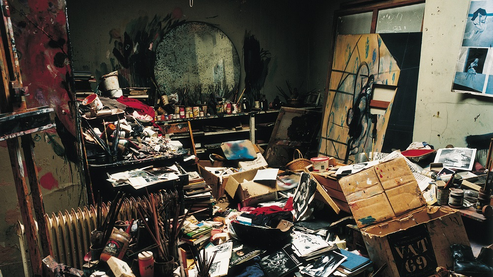 De studio van Francis Bacon