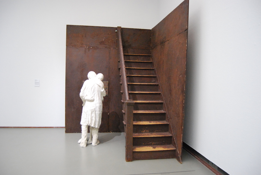 George Segal, Couple At The Stairs