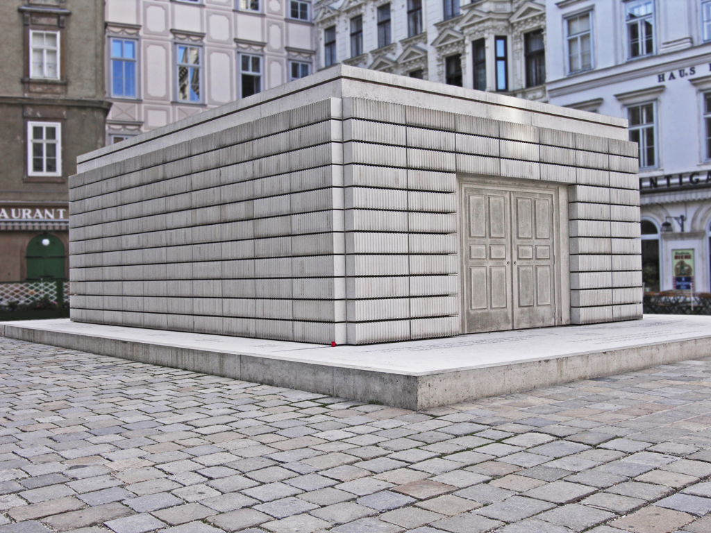Holocaustmonument Wenen - Rachel Whiteread