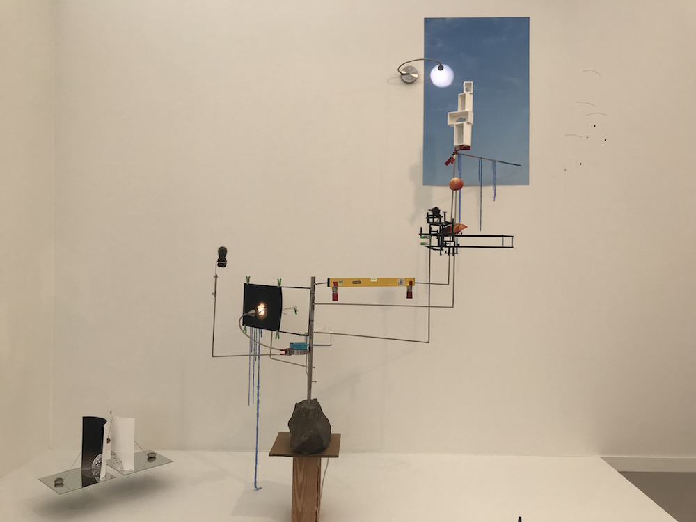Sarah Sze, Model for a Weather Vane, 2012