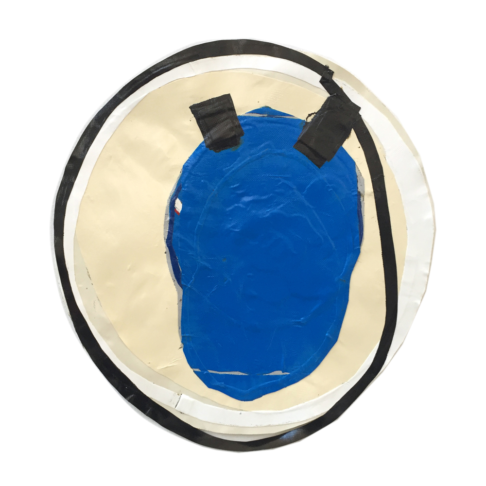 Squadron Me 2015, Blow-dried PVC fabric, ±50 x 55 cm