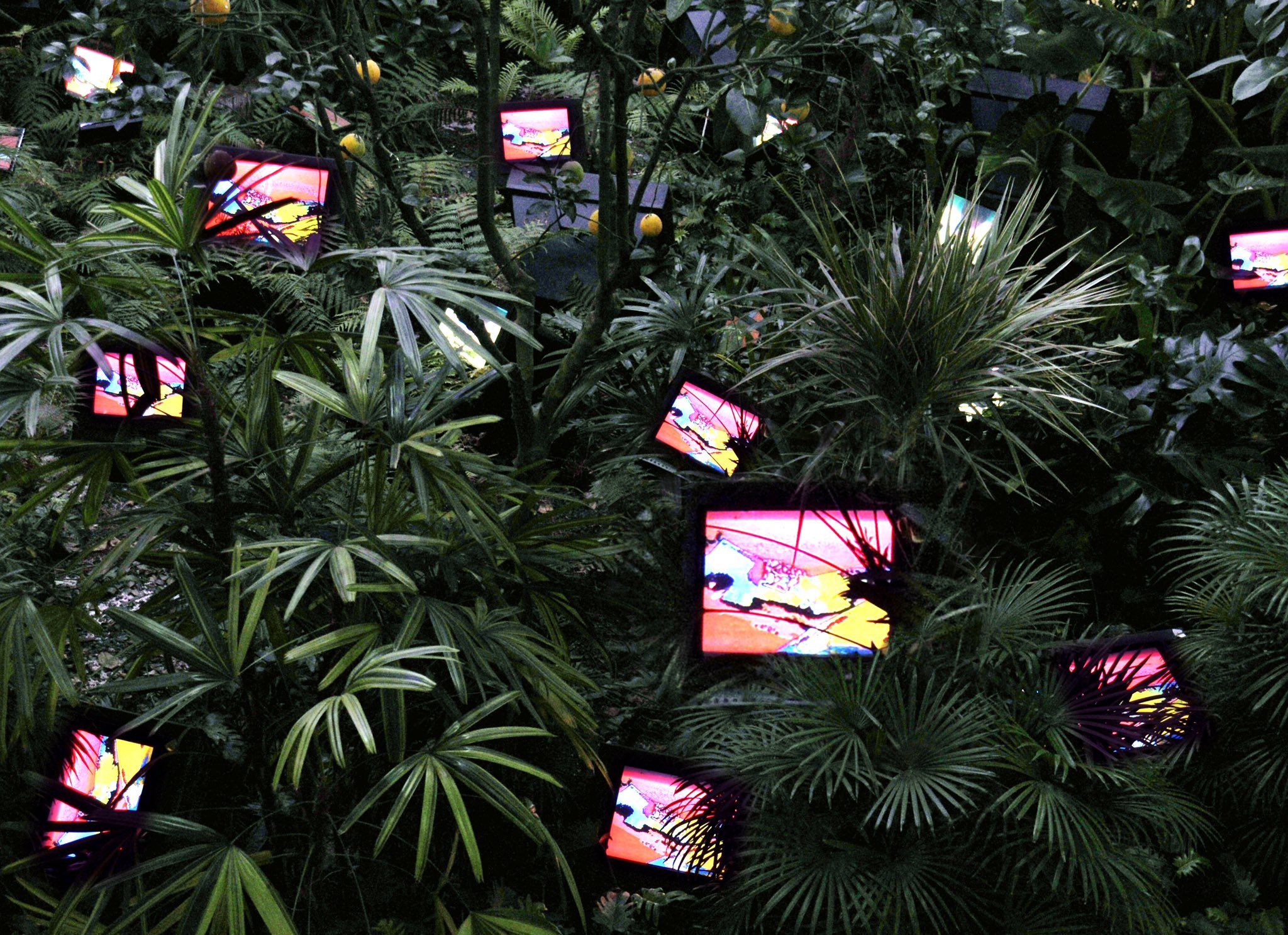 TV Garden - Nam June Paik
