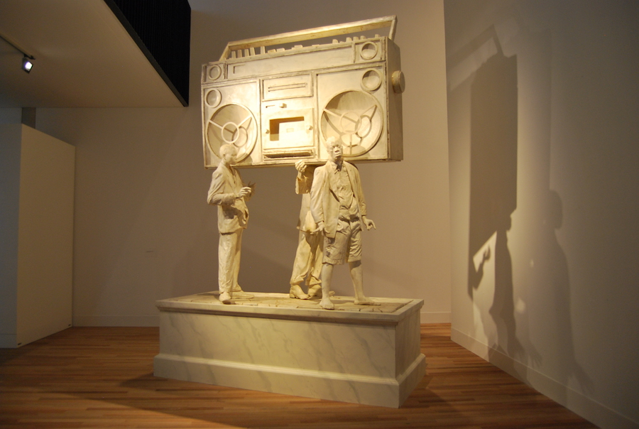 Bas de Wit, 'Toontje lager (Monument to)' 2008