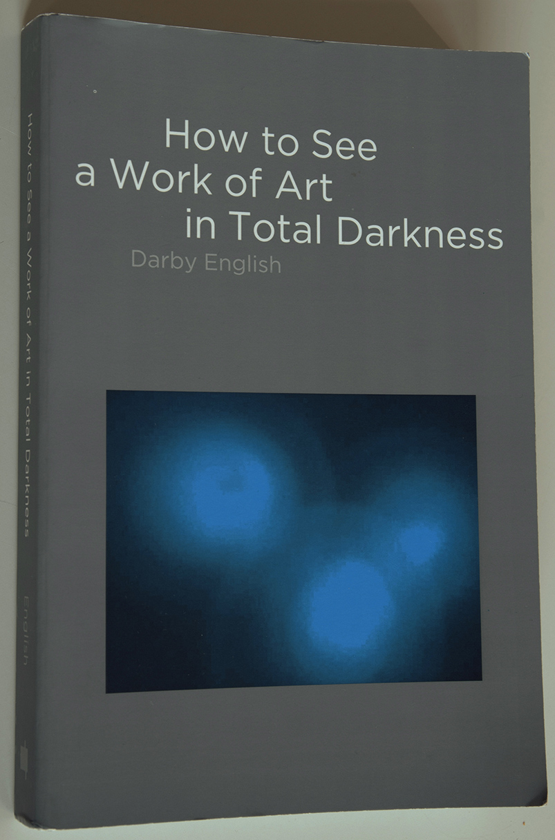 Darby English, How to See a Work of Art in Total Darkness