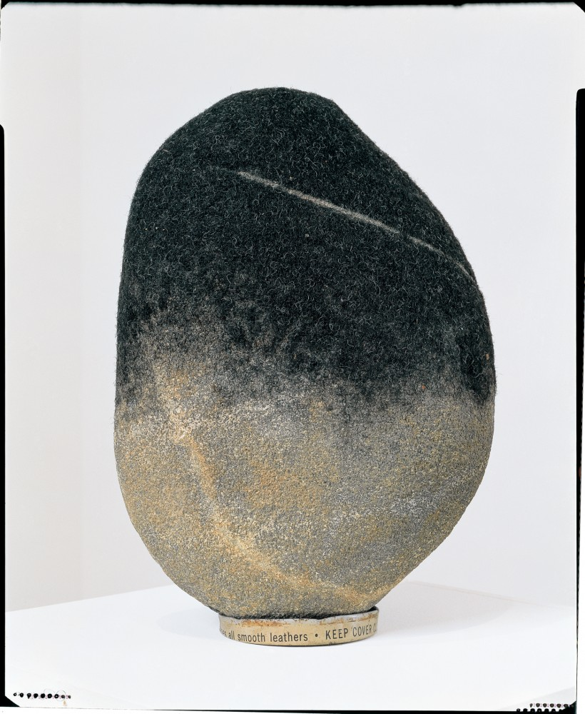 David Hammons, Rock Head series