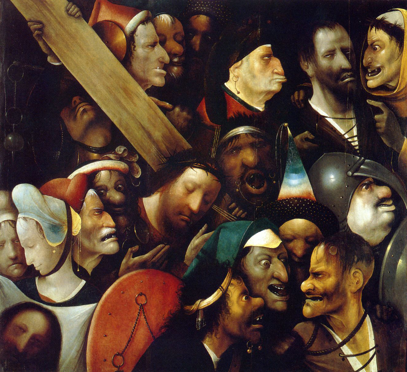 09)  Jheronimus Bosch - de Kruisdraging