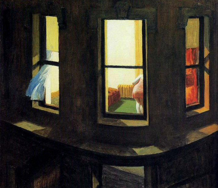 Edward Hopper, Night Window, 1928