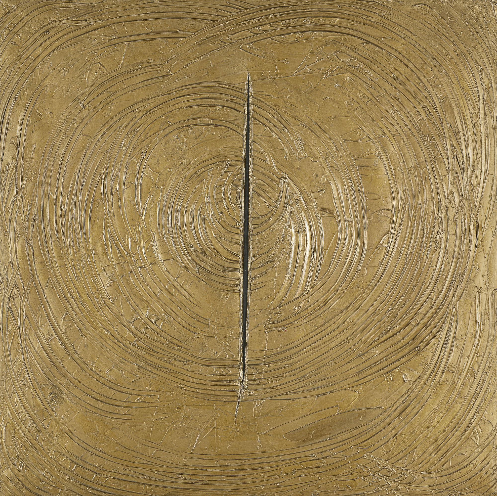 Lucio Fontana, Venice was all gold