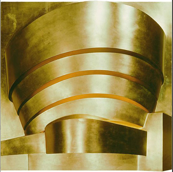 Richard Hamilton, The Solomon R. Guggenheim(gold)