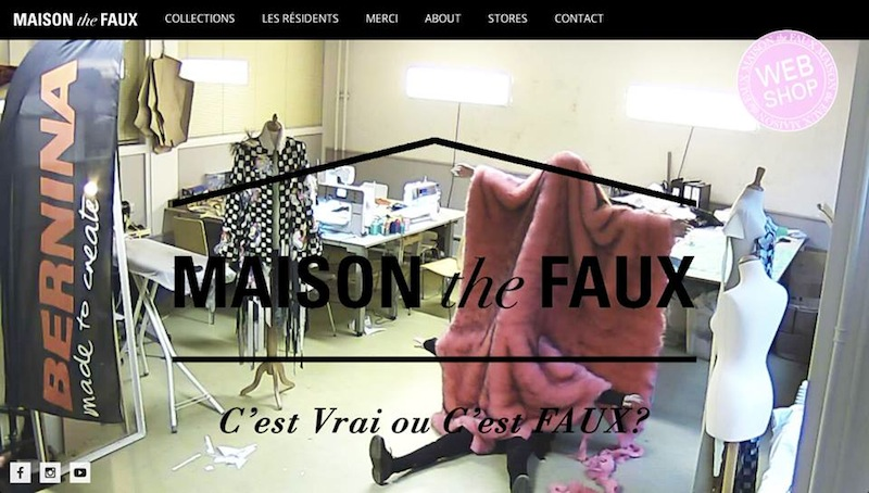 12-12-2014, Livestream MAISON the FAUX