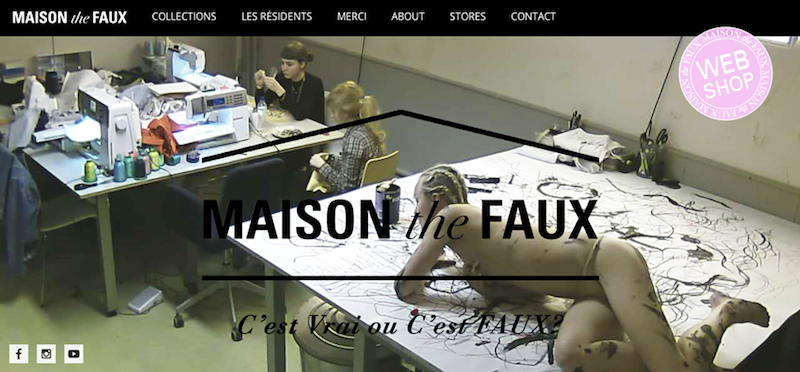16-12-2014, 17.07, Lisette Ros, Intervening space Pattern Making. Livestream MAISON the FAUX