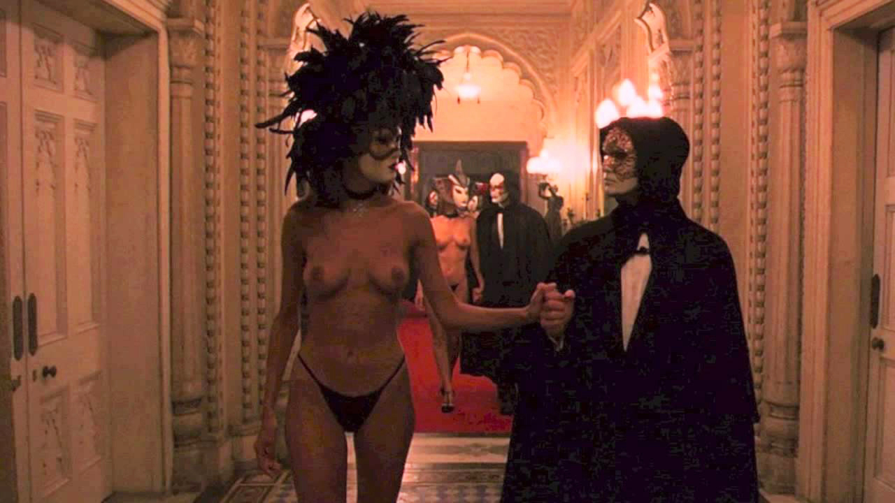 20)  Eyes wide shut - Stanley Kubrick 1999 - met Nicole Kidman en Tom Cruise