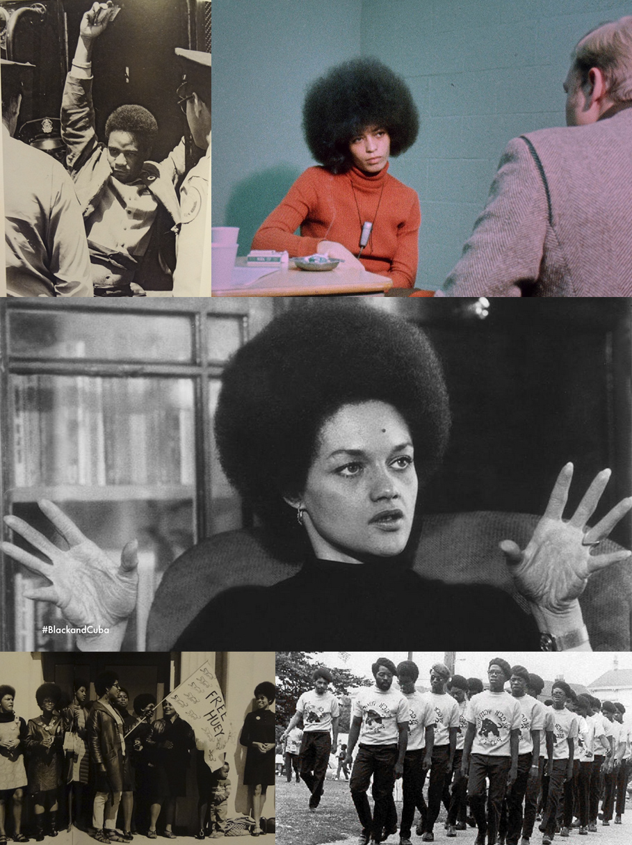 Angela Davis, Kathleen Cleaver, Black Panther Party