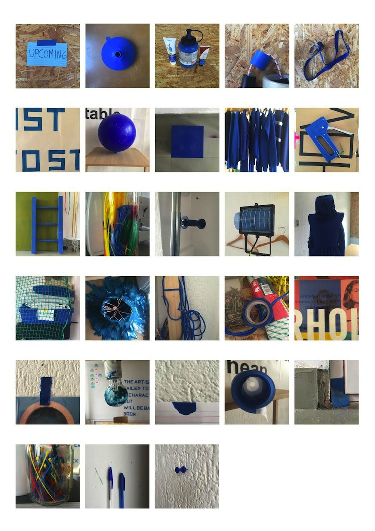 Studio Dennis Vanderbroeck – Finding my true (blue) color, collecting – 2016
