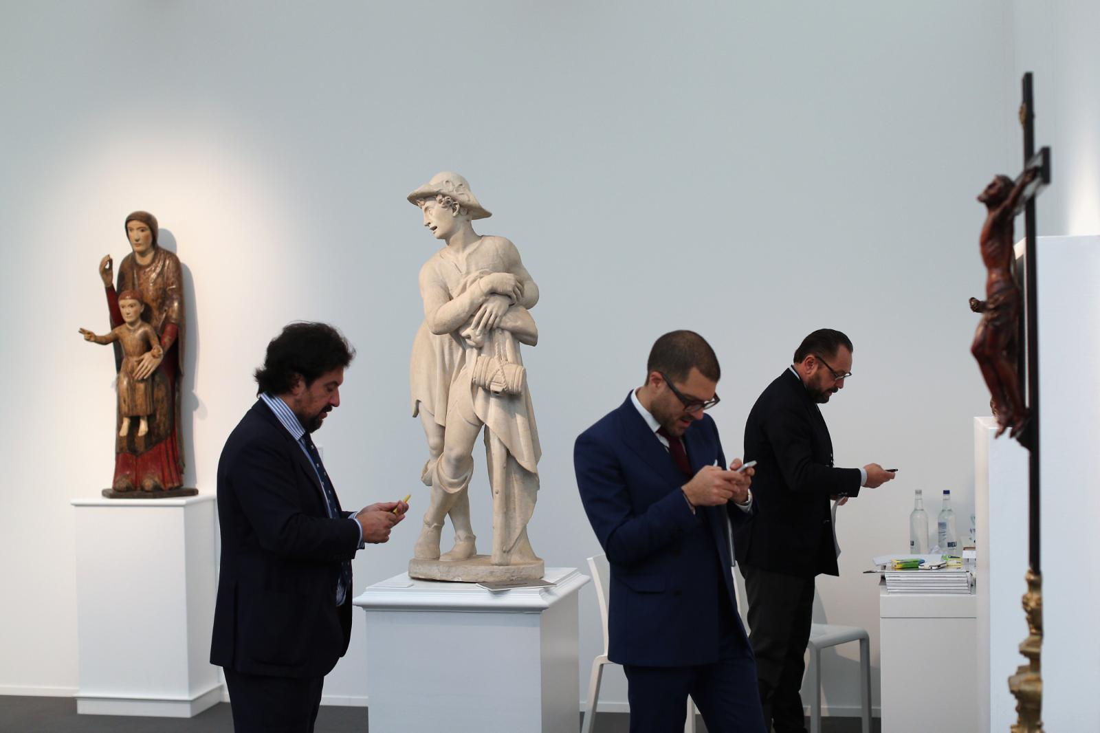 Frieze Artfair. Foto: George Young