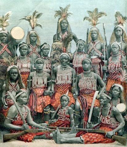 The Black Amazones of Dahomey