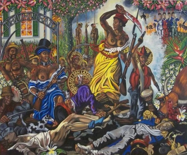 Carlota Leading the Slaves in Matanzas, Cuba, 1843, Lili Bernard *6