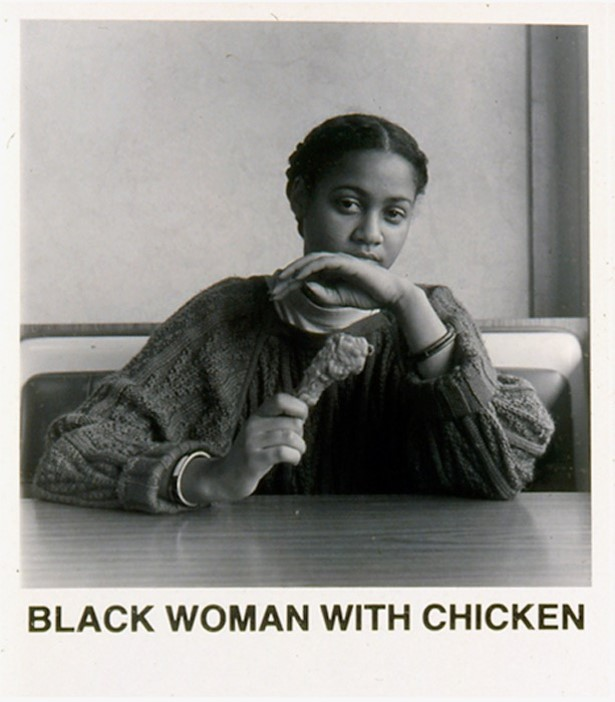 Carrie Mae Weems Black Woman with Chicken