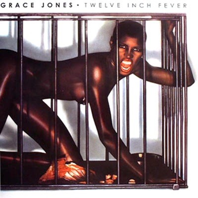 Jean Paul Goude album cover Grace Jones