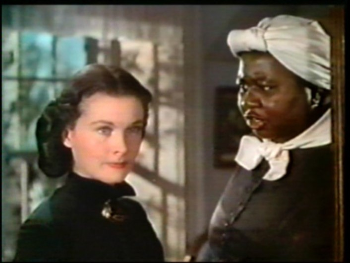 Hattie Mcdaniel in Gone Withe the wind. First Black woman to receive an Oscar *8