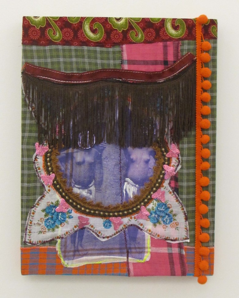 P.E.Kaersenhout Distant Bodies Mixed media on male handkerchiefs