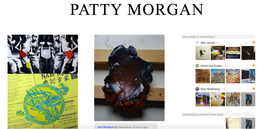 Homepage Patty Morgan