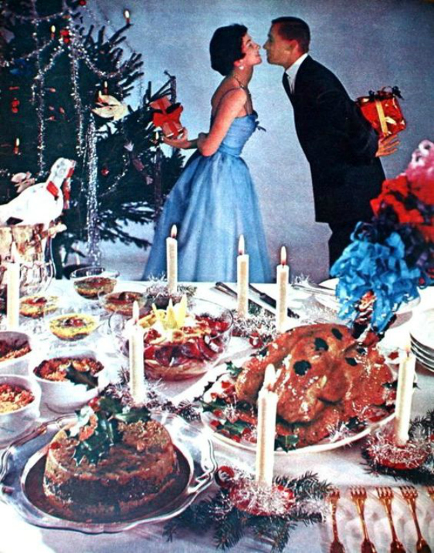 Christmas dinner - Margriet / December 1957