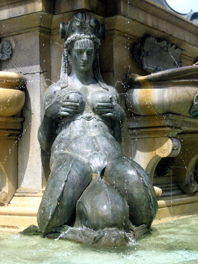 Fountain of Neptune (detail), Giambologna, Bologna